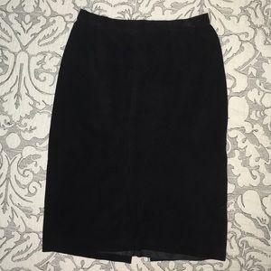 Dresses & Skirts - REDUCED‼️ VINTAGE GENUINE SUEDE LEATHER SKIRT